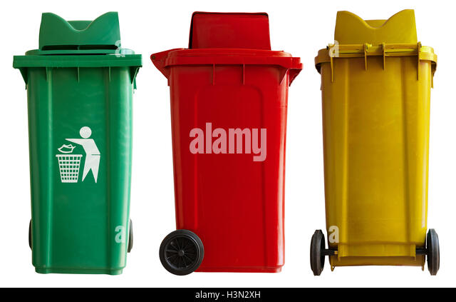 how to clean rubbish bins