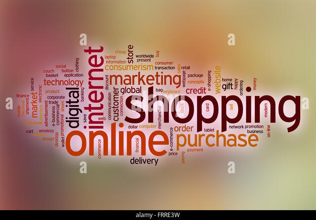 Online Shopping Cart Basket Word Stock Photos & Online Shopping ...