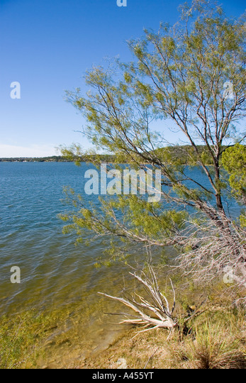 Possum Kingdom Lake, West Texas, Low Lake Water Levels, Drought, Edge of