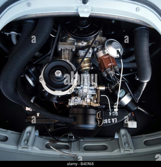 Vw Beetle Used Engine: Engine Vw Beetle Stock Photos & Engine Vw Beetle Stock