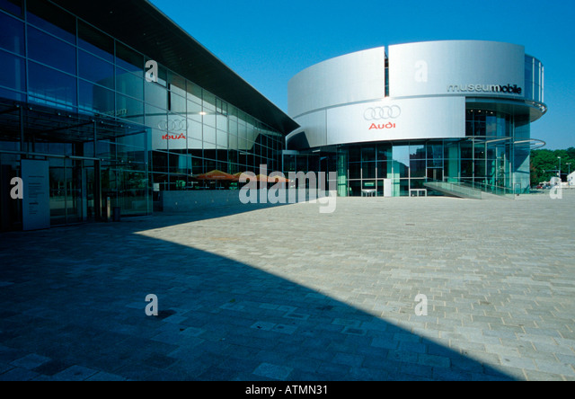 audi forum ingolstadt bavaria germany architekt stock photos, Attraktive mobel