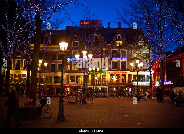 Leidseplein Square Amsterdam Stock Photos Leidseplein