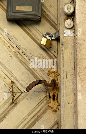 Brass lock stock photos brass lock stock images alamy for Door lock germany