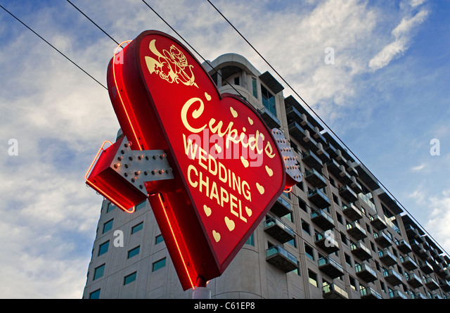 Wedding Chapel Cupids Las Vegas Nv Nevada Stock Photo Picture And Royalty Free Image Pic 38142224
