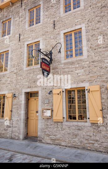 Restaurant quebec stock photos restaurant quebec stock for Auberge maison deschambault