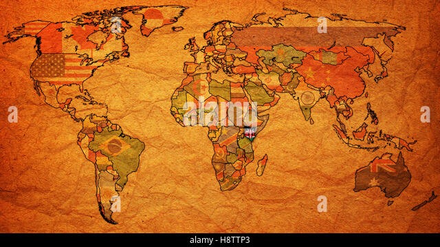 Outline Map Country Kenya Stock Photos  Outline Map Country Kenya