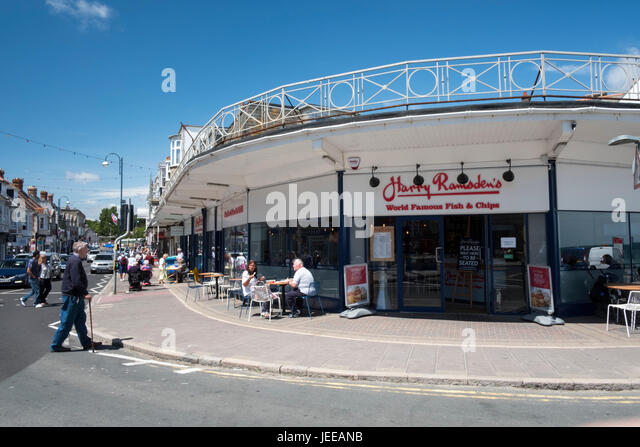 Fish And Chip Restaurant Swanage