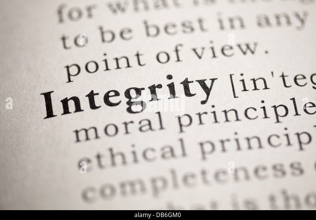 moral integrity stock photos moral integrity stock images alamy fake dictionary dictionary definition of the word integrity stock image