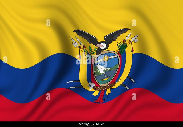 Flag Of Ecuador Stock Photos Flag Of Ecuador Stock Images Alamy