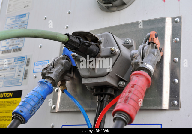 Tractor Air Lines : Air brake stock photos images alamy