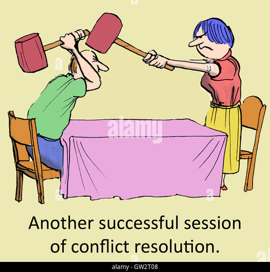 Mad Political Cartoon >> Conflict Resolution Cartoon Stock Photos & Conflict Resolution Cartoon Stock Images - Alamy