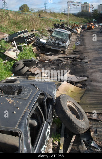 Stoystown Auto Wreckers >> Wrecked Cars Stock Photos & Wrecked Cars Stock Images - Alamy