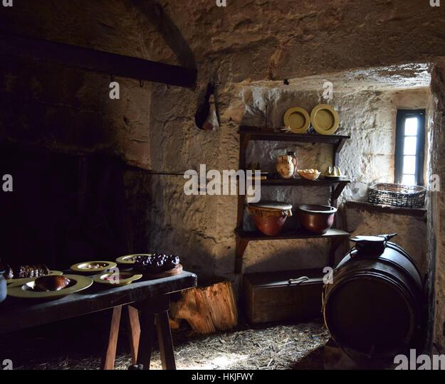 Medieval Kitchen Stock Photos Medieval Kitchen Stock Images Alamy - Medieval Kitchen Design