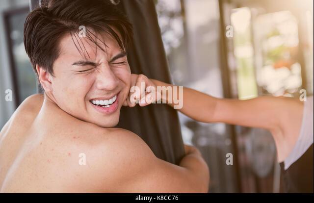 Hot naked women in gangbang
