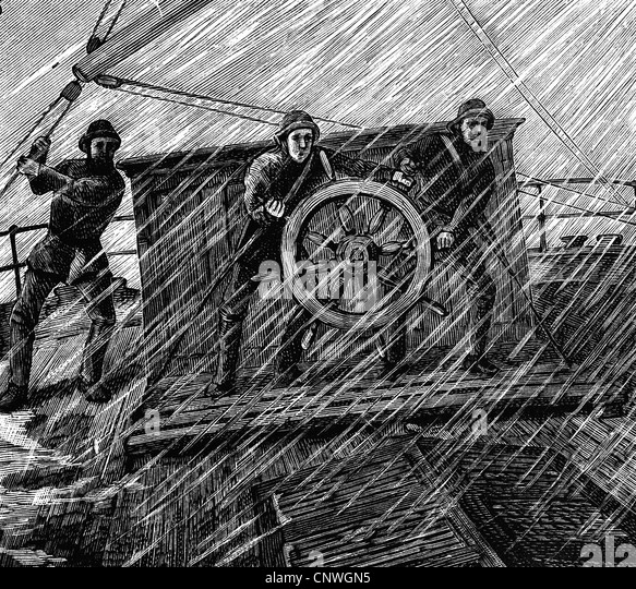 Image result for ships wheel helmsman storm