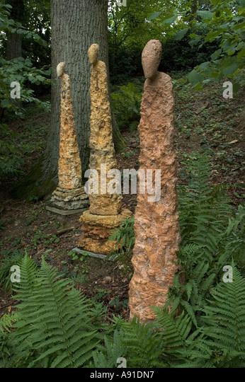 Sculpture Garden.   Stock Image