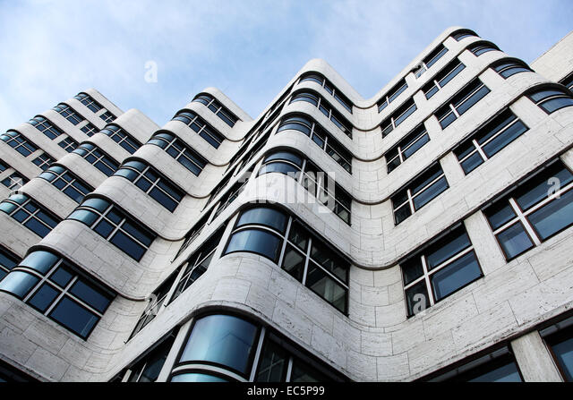 Bauhaus Pankow building in bauhaus architecture style stock photos building in