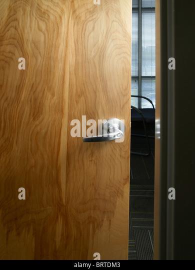 Open Office Door - Stock Image & Door Slightly Open Stock Photos \u0026 Door Slightly Open Stock Images ...