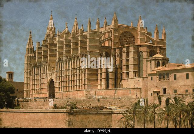 Spain Spanish Grunge Stock Photos & Spain Spanish Grunge  -> Vintage Möbel Palma De Mallorca