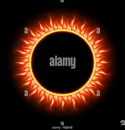Solar eclipse illustration stock photos solar eclipse for Eclipse html template