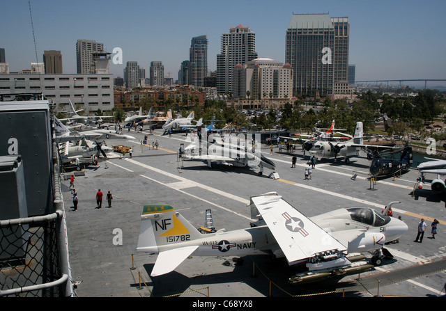 Uss Midway Museum San Diego Stock Photos Uss Midway