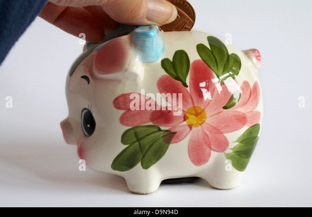 Penny Pig Stock Photos  Penny Pig Stock Images  Alamy