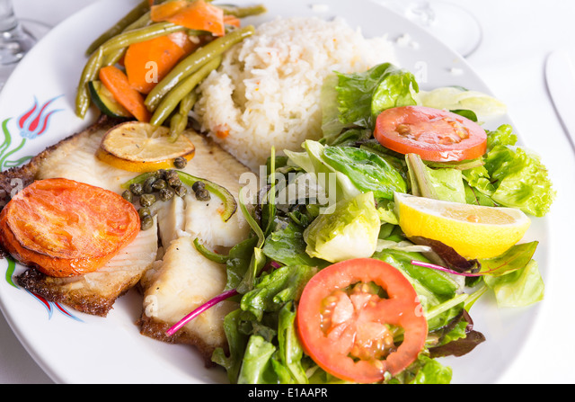 Fish Rice Vegetables Stock Photos & Fish Rice Vegetables ...