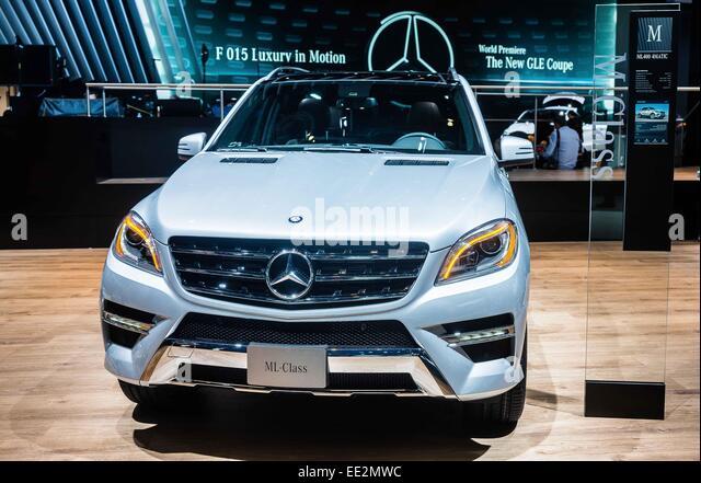 Detroit mi usa 12th jan 2015 the mercedes benz ml for Mercedes benz north america customer service