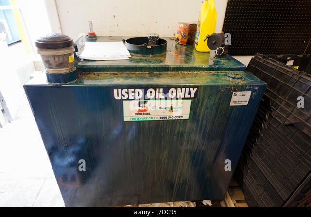 Used auto parts stock photos used auto parts stock for Motor oil storage container