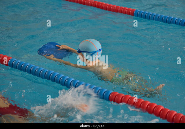how to put a swim cap on a child