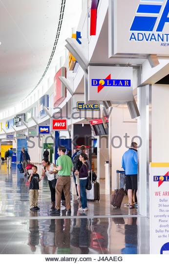 Rental car companies near denver airport