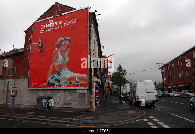 Belfast Unionist Loyalist Mural City Stock Photos. Flash Logo. Blue Signs. Era Logo. Book Promotion Banners. Chrysler Building Lobby Murals. Cobweb Stickers. Garden Shed Murals. Drop Banners