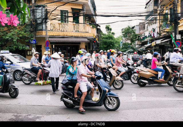 Scooters Hanoi Stock Photos & Scooters Hanoi Stock Images ...