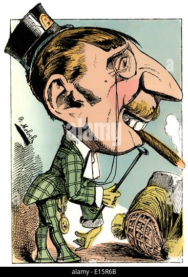 Nineteenth Century Cartoon Stock Photos Amp Nineteenth
