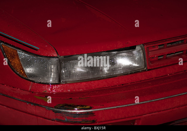 how to fix a dent in a car front bumper