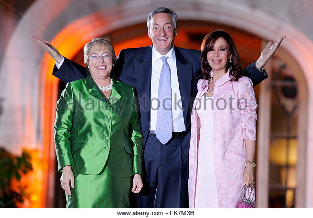 Michelle Bachelet Swimming
