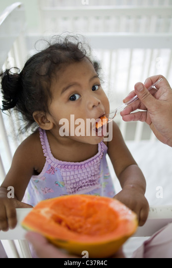 Brazil Child Eating Stock Brazil Child Eating Stock