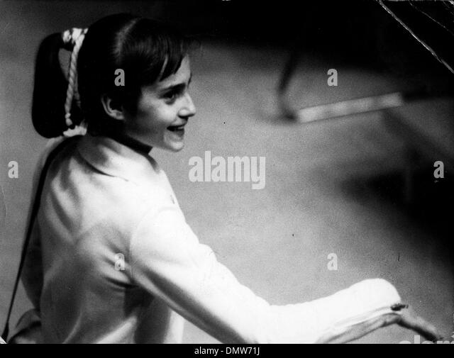 july 26 1976 montreal canada fourteen year old gymnast nadia comaneci watches
