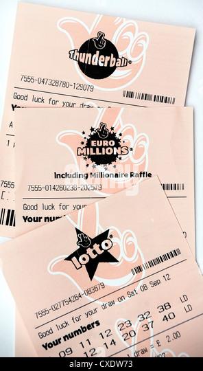 how to play national lottery thunderball