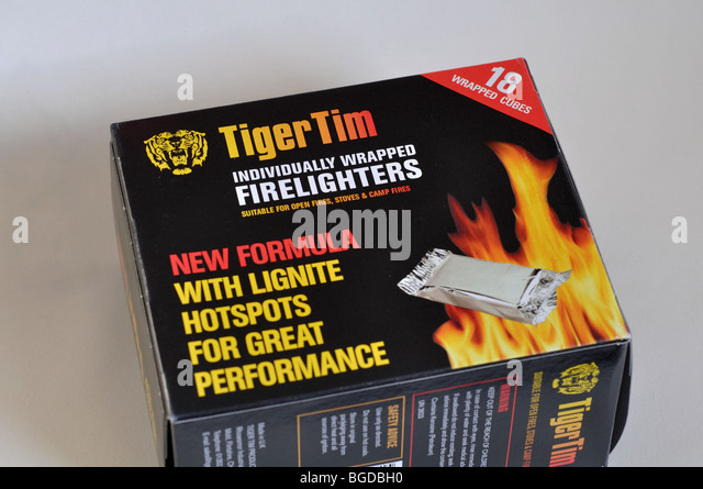 Firelighters formula