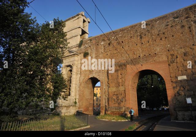 Porta maggiore stock photos porta maggiore stock images - Rome porta maggiore ...