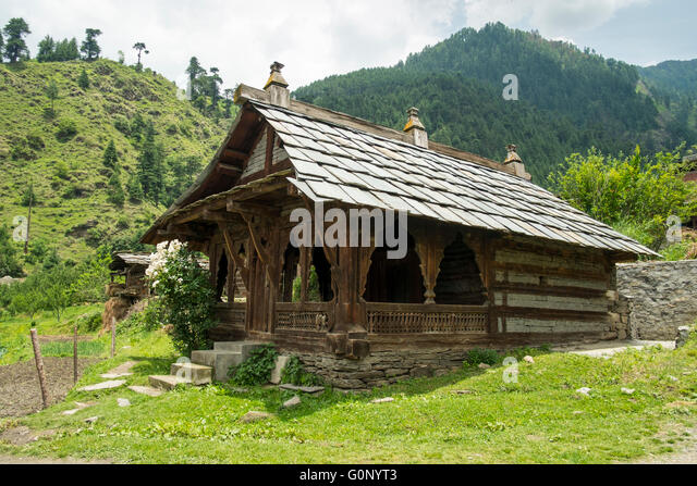 Himalayan Village Stock Photos Himalayan Village Stock