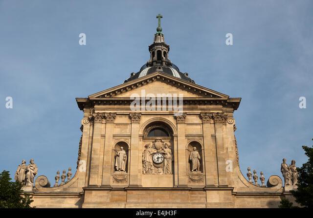 chapelle de la sorbonne. La Chapelle Sainte-Ursule De Sorbonne, Paris France - Stock Image Sorbonne