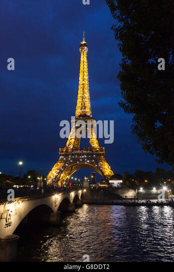Eiffel Tower Restaurant France Stock Photos Eiffel Tower Restaurant F