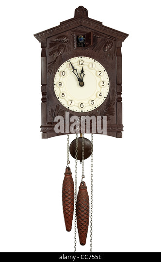 Cuckoo clock stock photos cuckoo clock stock images alamy - Cuckoo clock pendulum ...