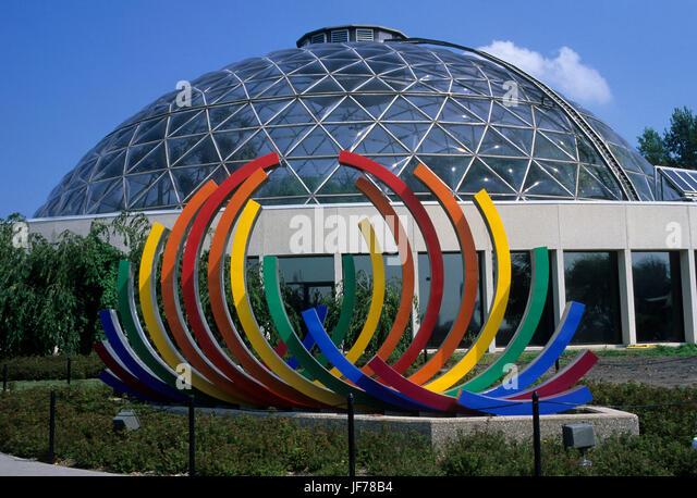 Merveilleux Botanical Center, Des Moines, Iowa   Stock Image