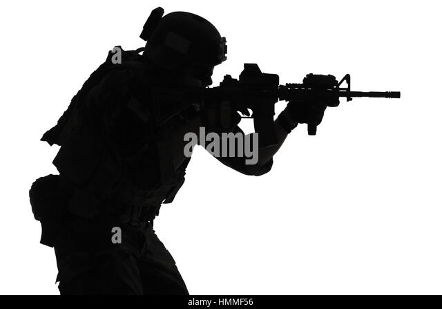 Special Forces Silhouette Stock Photos & Special Forces ...