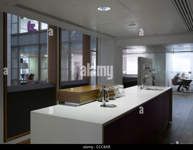 Office corporate architecture kitchen stock photos for Innovation agency london
