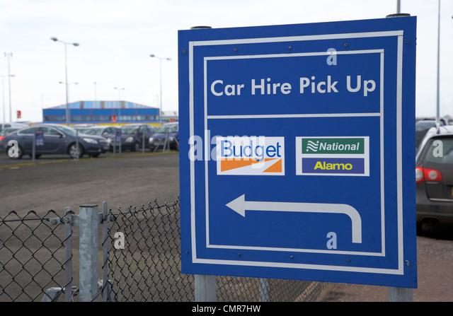 Hertz Car Hire At Belfast International Airport