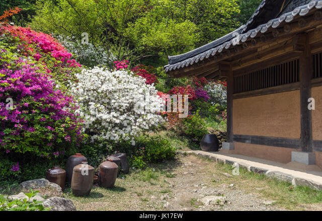 Part Of Traditional Korean House